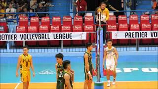 UAAP Season 80 Boys Volleyball Finals UST vs. FEU Game 2 (Part 2)