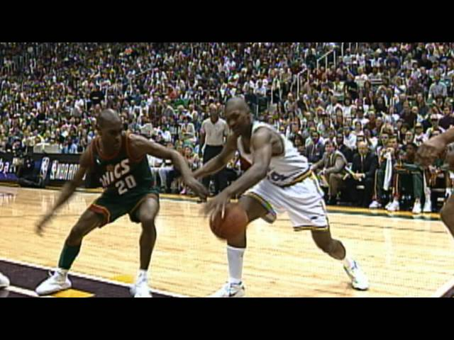 Gary Payton Inducted into the Hall of Fame