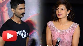 Priyanka Chopra Reacts On Ex Shahid Kapoor's Udta Punjab Censorship War