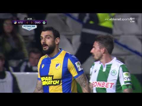 Βίντεο αγώνα: ΑΠΟΕΛ 0-0 Ομόνοια #22η «Χ το El Clasico.. ούτε και τώρα το γκολ»