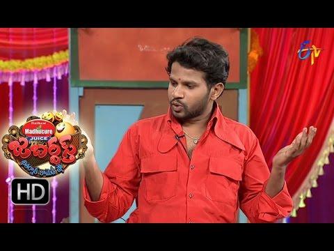 Hyper Aadi Raising Raju Performance | Jabardasth | 27th  October 2016 | ETV  Telugu