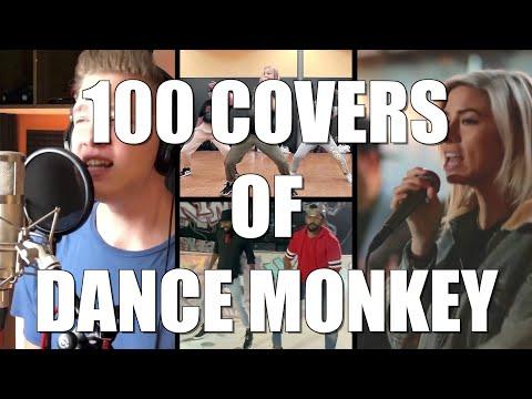 DJ Earworm - YouTube Sings Dance Monkey (100 COVERS)