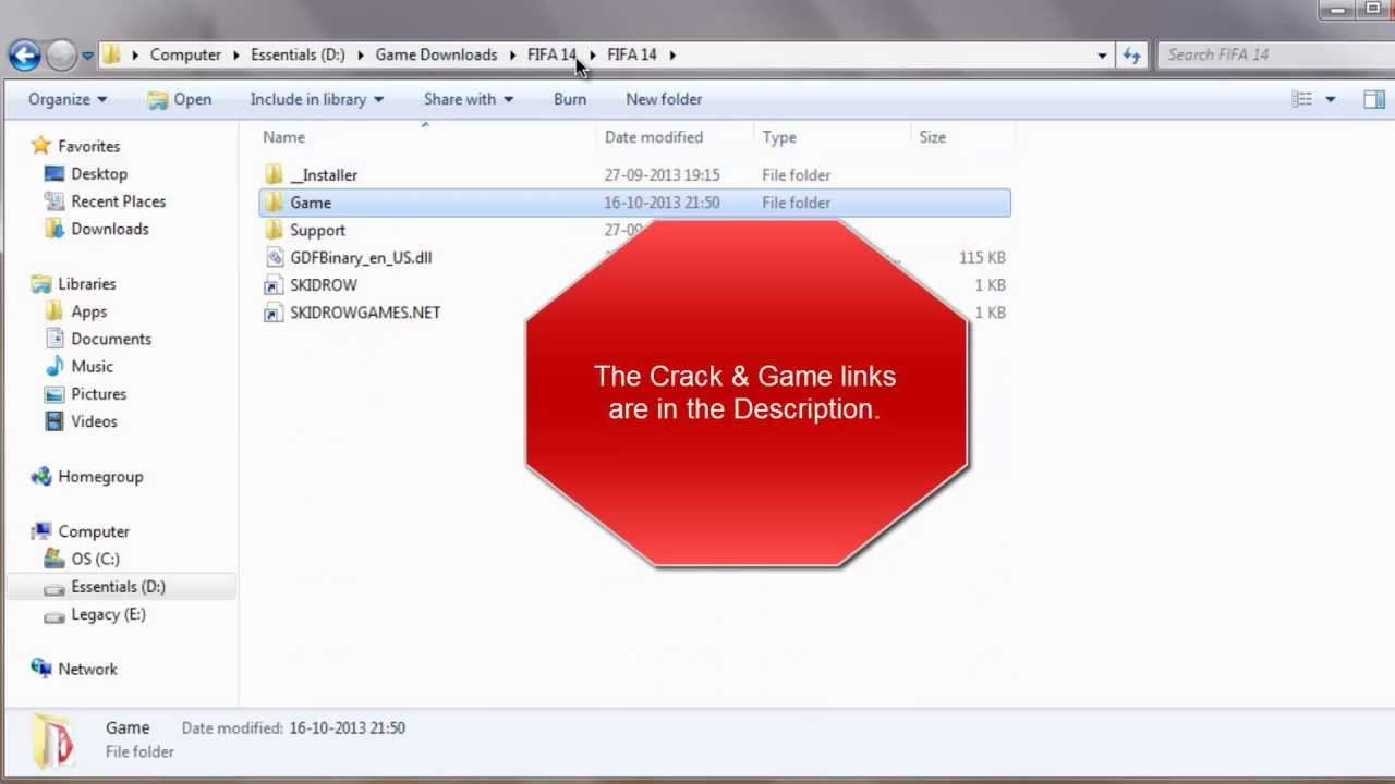 fifa 14 crack file free download for pc