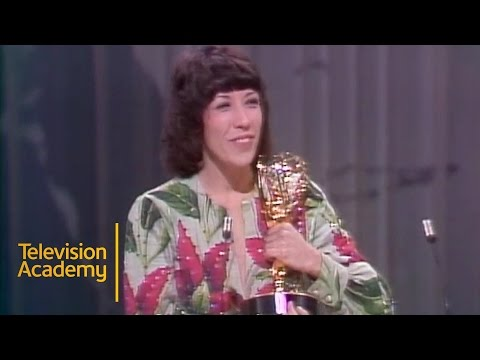 Lily Tomlin Accepts Emmy for Outstanding Comedy Variety Special | Emmys Archive (1974)