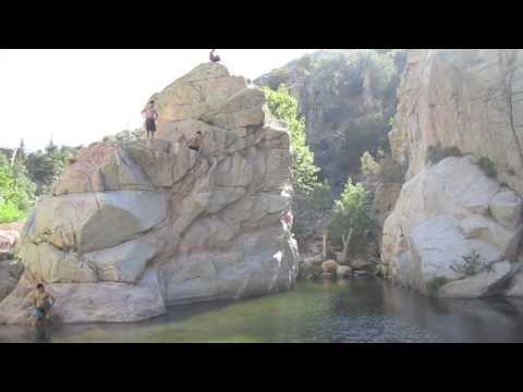 Cliff Jumping @ San Bernardino National Forest