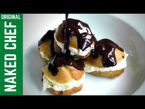 Christmas Dessert Profiteroles How to make recipe