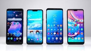 HTC U12+ vs. LG G7 ThinQ vs. Samsung Galaxy S9+ vs. Huawei P20 Pro: Benchmark | SwagTab