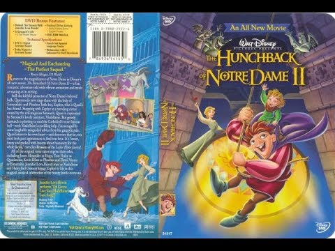 The Hunchback of Notre Dame II 2002 DVD Menu Walkthrough