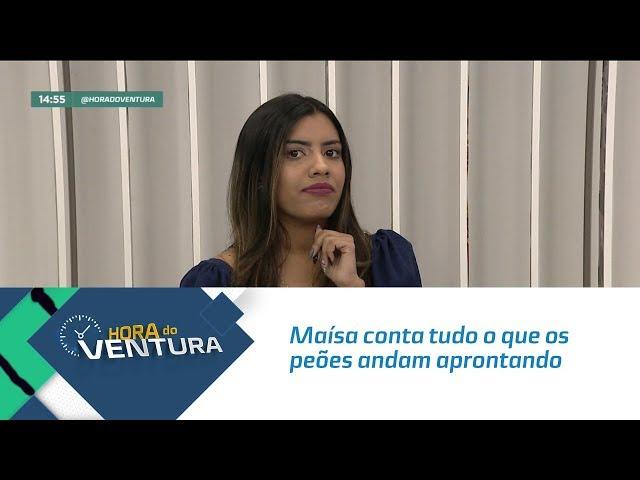 """Maísa conta tudo o que os peões andam aprontando em """"A Fazenda 11""""  - Bloco 02"""