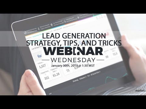 Lead Generation for Small Business – Strategy, Tips, & Tricks