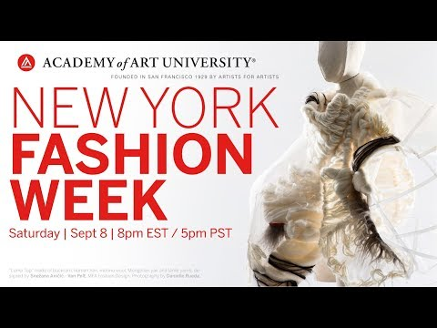 2018 Academy of Art New York Fashion Show Collections