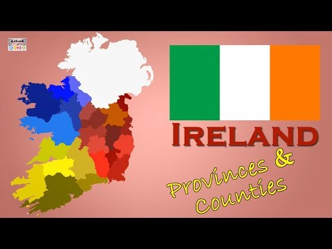 Learn Ireland's Counties & Provinces | Geography Of Ireland | General Knowledge Video | Ireland Map