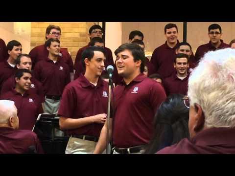 "Texas A&M Singing Cadets ""Karaoke Medley"" 10/16/2015"