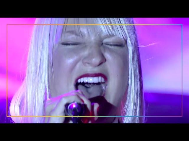 "Sia's heartrending acoustic performance of ""Titanium"" | LA LGBT Center"
