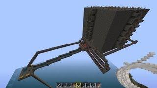 Minecraft mob trap tutorial (resource efficient mob farming)