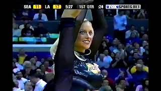 Sonics at Lakers, 2004