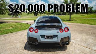 Fixing the R35 GTR's COMMON $20,000 problem