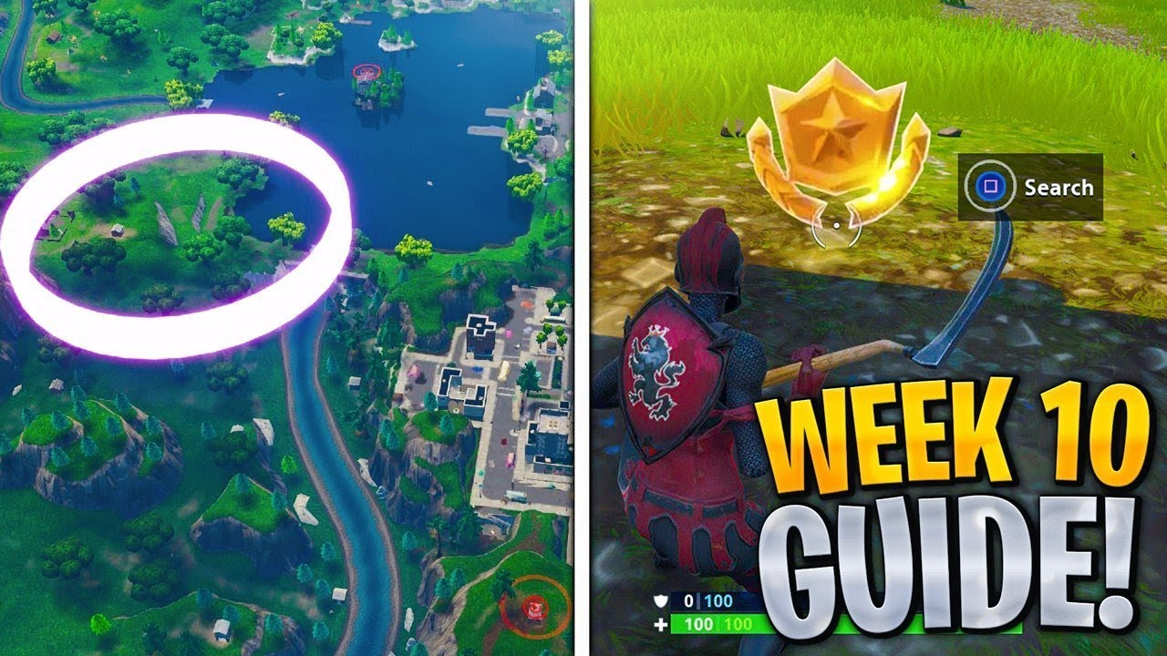 week 10 The week 10 challenges just dropped, officially bringing us into the final week you might be more interested in the rifts eating the map alive whole, of course, but if you're still trying to unlock that.