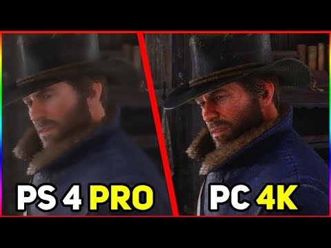 🔥 СРАВНЕНИЕ ГРАФИКИ Red Dead Redemption 2 | PC/PS4/XBOX | УЛЬТРА ГРАФИКА РДР 2