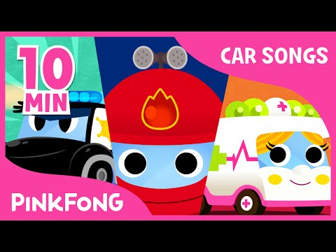 Thumbnail: Police Car Song | Vehicle Songs | Car Songs | + Compilation | PINKFONG Songs for Children