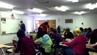 Bulldog Shake In Spanish Class