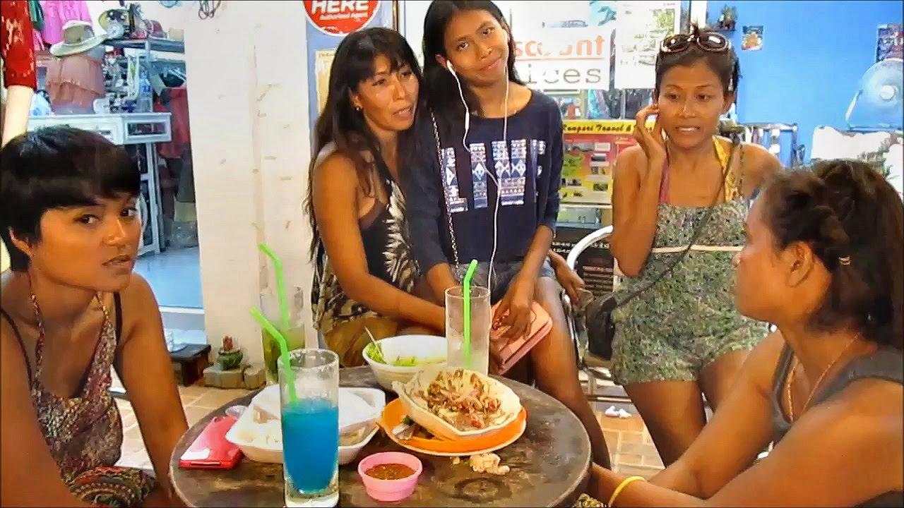 Food, Fun, Cocktails and Beautiful Thai Girls at Lamai