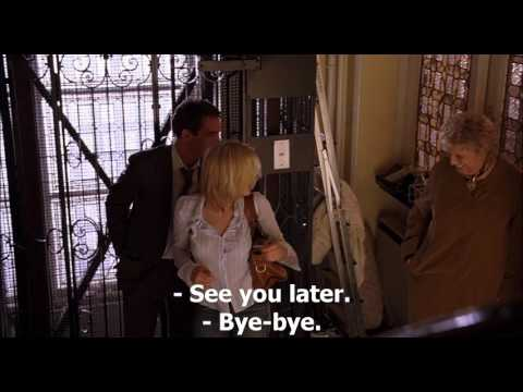 Match point (2005) - 'You're gonna be late for work'