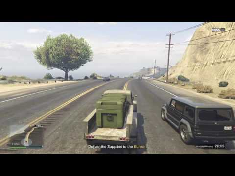 Grand Theft Auto Online Bunker Supply missions
