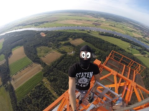 Freeclimbing Germany Roofer 344M Tower