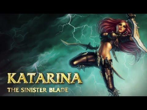 Katarina: Champion Spotlight  Gameplay  League of Legends