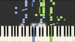 Kleiner Morgenwanderer - Robert Schumann [Piano Tutorial] (Synthesia)
