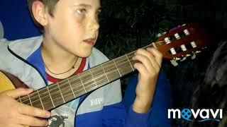 Видео урок игры на гитаре песни