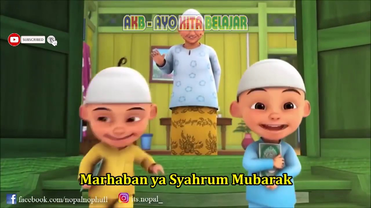 Ya Syahru Ramadhan Versi Upin Ipin, Marhaban Yaa Romadhon