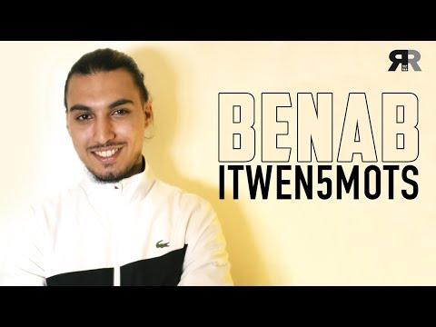 """Youtube: BENAB – L'Interview 5 Mots: """"Maes, je le connais depuis petit, Kalash Criminel depuis…"""""""
