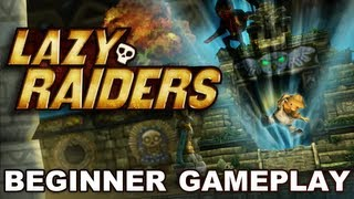 Lazy Raiders - iOS - Gameplay video (Beginner)
