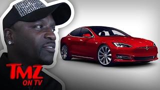 Akon Got His Tesla Back | TMZ TV