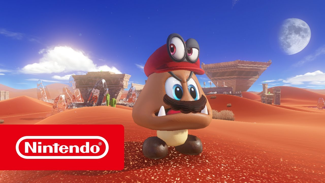 Super Mario Odyssey Trailer Del E3 2017 Nintendo Switch Youtube