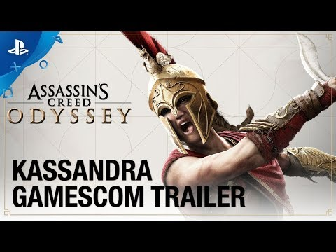 Assassin's Creed Odyssey: Gamescom 2018 - Kassandra