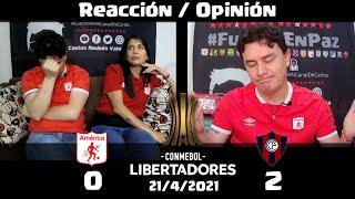 América de Cali (0) vs (2) Cerro Porteño | Grupo H Copa Libertadores