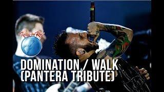 Gloria - Domination / Walk (Pantera Cover) [O Melhor do Rock in Rio]