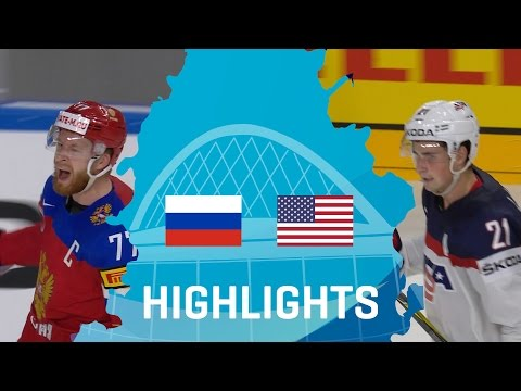 Russia - USA | Highlights | #IIHFWorlds 2017