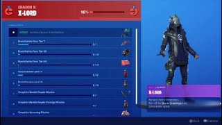 Fortnite Season X X-Lord Skin Review And Rewards