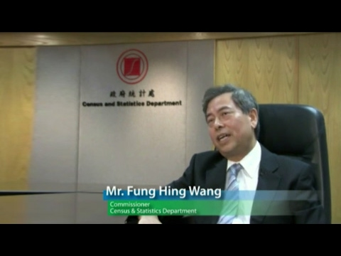 Mr Fung Hing Wang, Commissioner (2005-2011), Census & Statistics Department
