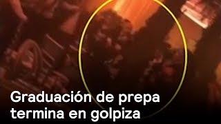 Golpiza en graduación de prepa - Puebla - En Punto con Denise Maerker