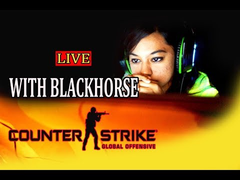 🔴CS:GO LIVE STREAM WITH 🗡 BLACKHORSE! 🔫 let's play some csgo together! #12