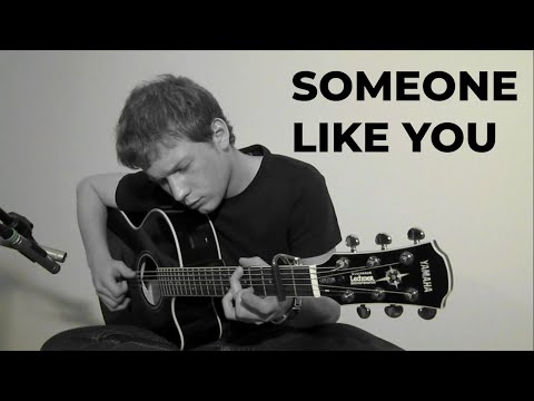 (Adele) Someone Like You - Alex Altenhuber - Solo Fingerstyle Acoustic Guitar Live