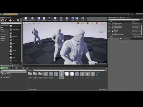 Mixamo Animation Retargeting For UE4 - Manual Tuning