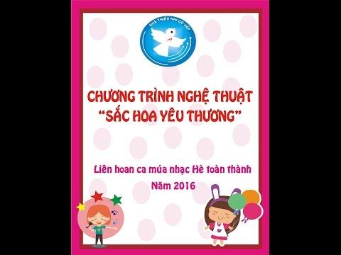Nhà thiếu nhi Gò Vấp tham gia Liên Hoan ca múa nhạc Hè toàn thành năm 2016