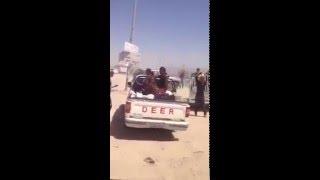 video ii pdk peshmerga fleeing before isis s arrival by yezidis organization