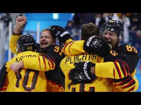 Olympia 2018: Historischer Sieg für die deutsche Eishockey-Mannschaft über Kanada